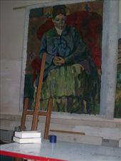 Cezanne copy painting my friends did: by catiesim0486, Views[208]
