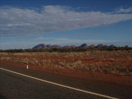 Une image vaut mille mots, sur la route vers le desert.