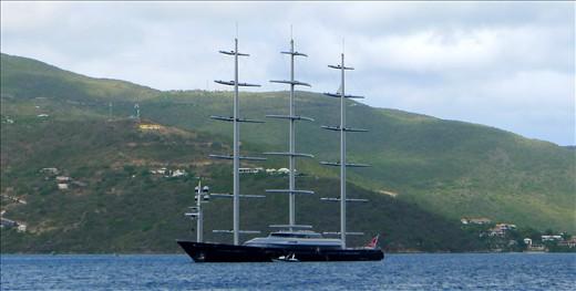 Maltese Falcon in Gorda Sound