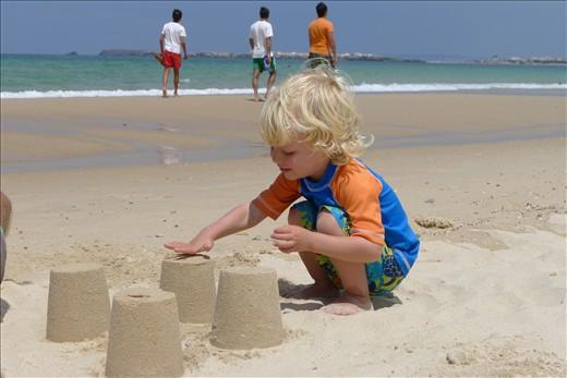 Sand Castles in Peniche