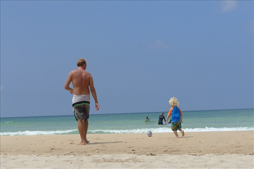 Practicing soccer skills - Peniche