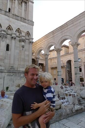 Temple of Jupiter - Center Split