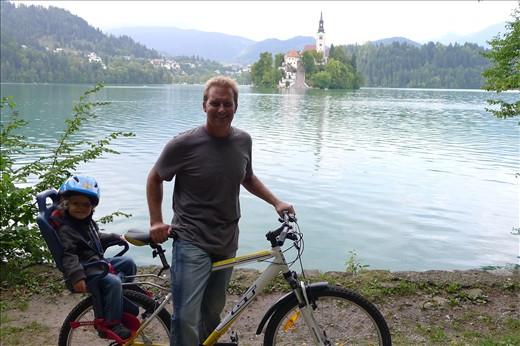Jackson's first bike ride