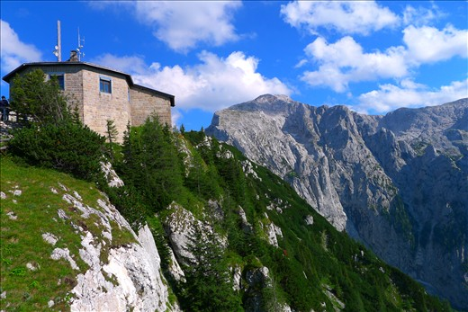 Eagle's Nest in the Alps