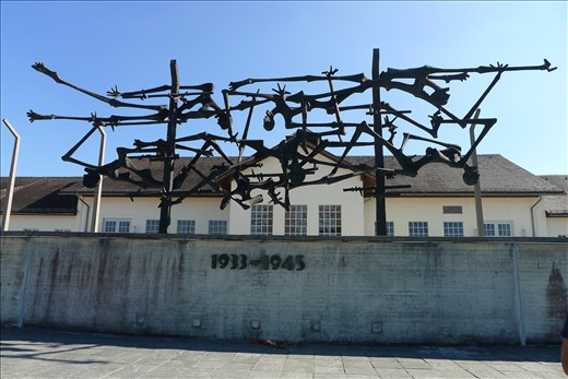 Memorial Sculpture in Dachau
