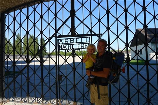 Enterance Gate to Dachau Camp