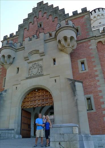 Enterance to Neuschwanstein castle