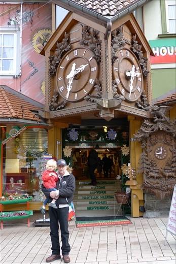 Coo Coo Clock shop in Triberg