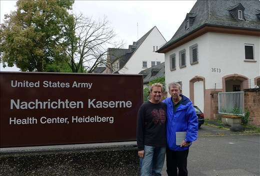 Army hospital where Chris was born - Heidelberg
