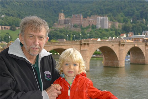 Heidelberg with Grandpa