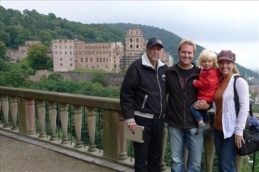 Heidelberg (Schloss) Castle with Greg