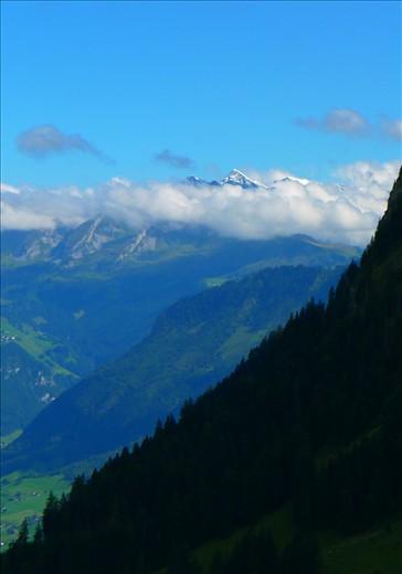 Beautiful views coming down the mountain