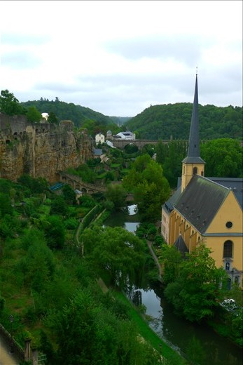 Pretty Luxembourg City