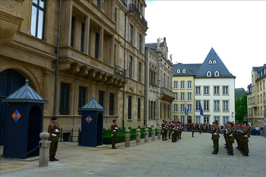 Changing of the Guard at Luxembourg Palace