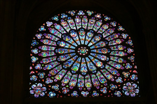 Notre Dame's Rose Window