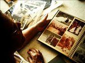 Family photo albums evoke polar emotions.