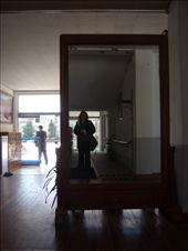 Big mirror in the hall of ChungMu Middle school: by cepctheworld, Views[282]