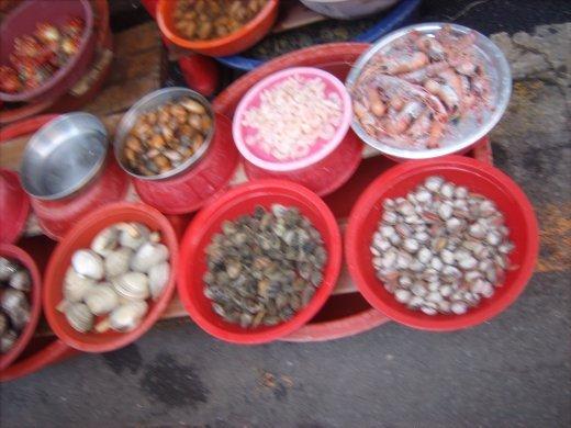 Shellfish galore!