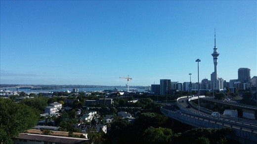 Final view of Auckland