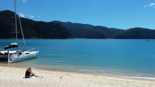 Another view of Anchorage beach at Abel Tasman