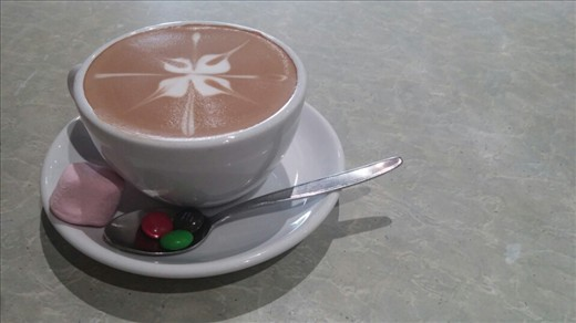 They make such beautiful cappuccinos!