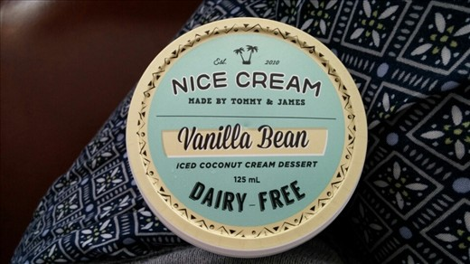 Nice Cream - the best coconut ice cream ever!