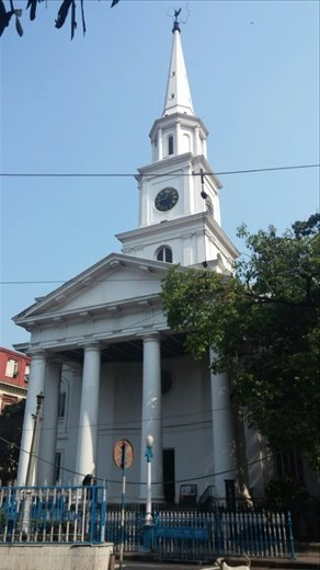 Church supported primarily by Scottish immigrants to Kolkata