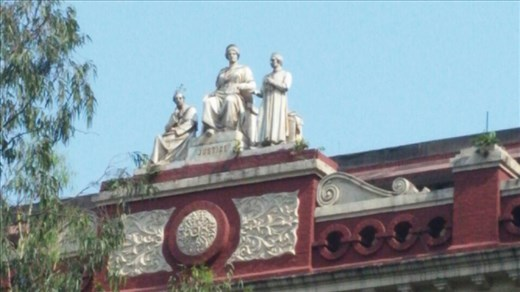 Decorative features were added to the building later in its lifetime to give it a more aesthetic look