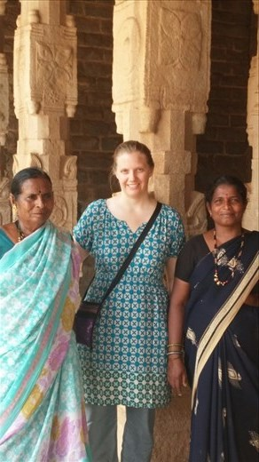 Some Indian tourists insisting I get my picture taken