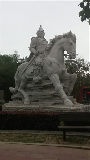 Famous Chinese warrior