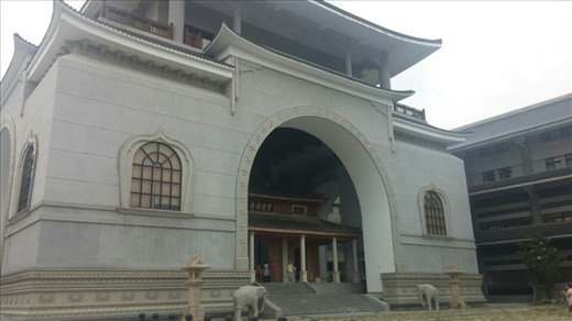 A Buddhist temple tucked away in Taichung