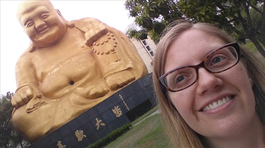 Best giant buddha ever! What a sight to see - can't help but smile with joy!