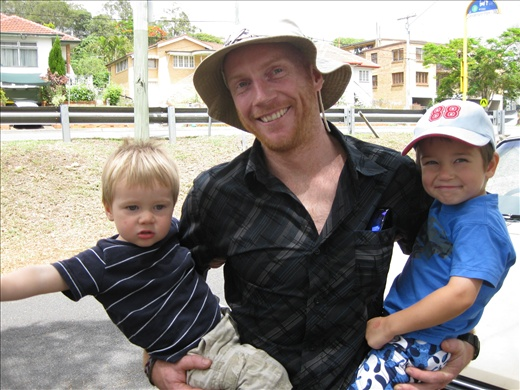 handsome holland and little nephews