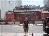 Ross out the front of some temple: by chanelle_ross, Views[205]