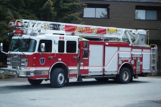 Big Brother, Whistler Fire Truck May 4th