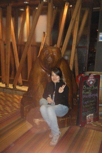 Norah and the Bear May 4th