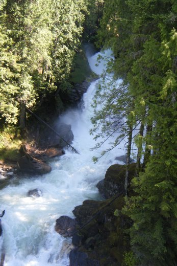 Crazy Creek Waterfalls