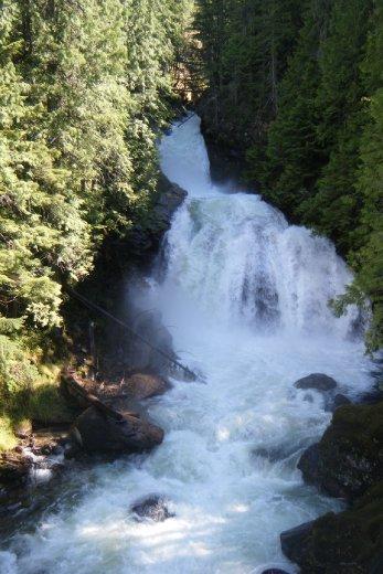 Crazy Creek Waterfalls Just outside Revelstoke June 14th