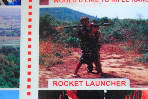 How often do you get a chance to fire a rocket launcher?