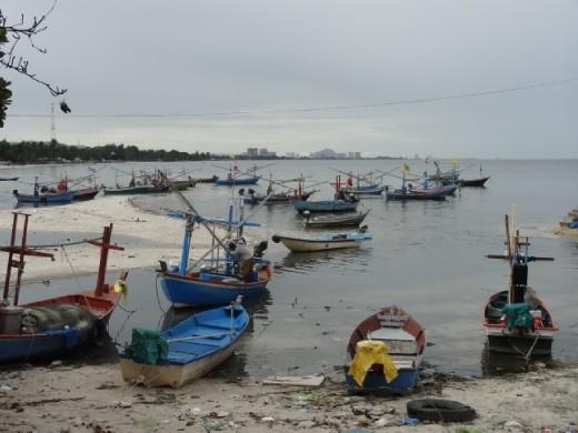 HuaHin....fishing village