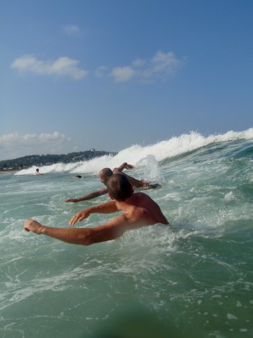 Body surfing :)