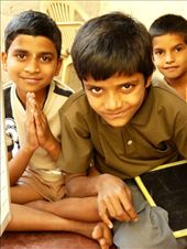 Reverence and extreme curiosity towards the camera. A usual experience among these extra-ordinary children of a rural Indian school.: by children_of_india, Views[315]