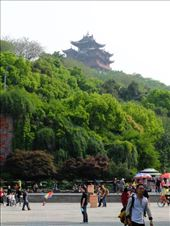 City God Temple in Sunlight from Wushan Square: by chinaho, Views[209]