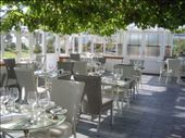 The Conservatory restaurant looking sparkly and pretty in the evening sun: by chloe, Views[229]