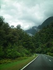 On the road to the Haast Pass: by chloe, Views[170]
