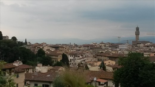 Florence, view from Piazza Michaelangalo