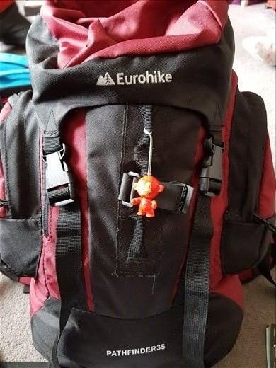 My trusty travel companions