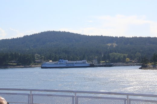 BC ferry at Galliano island