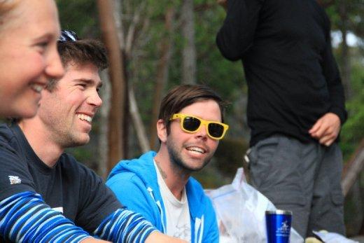 Chris and Shaun