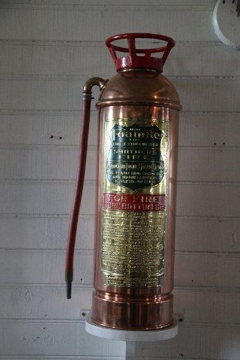 Fire extinguisher on the Klondike